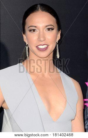 LOS ANGELES - APR 3:  Elizabeth Frances at the AMC's