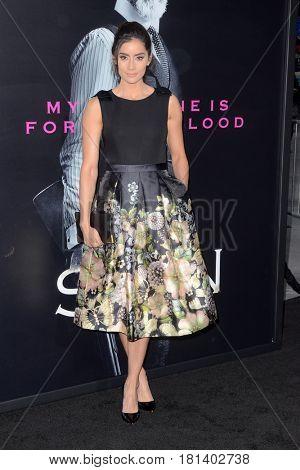 LOS ANGELES - APR 3:  Paola Nunez at the AMC's