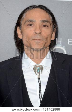 LOS ANGELES - APR 3:  Zahn McClarnon at the AMC's