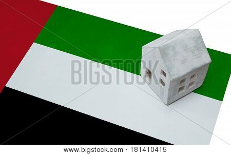 Small House On A Flag - Uae