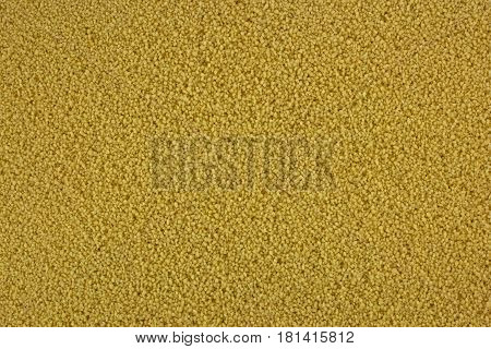 Raw organic couscous background, natural, tasty and healthy