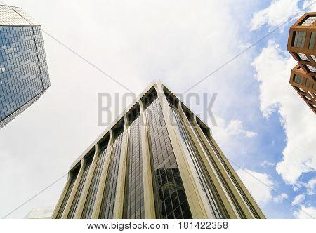 Skyscrapers Of Denver