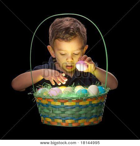 Glowing Easter Basket