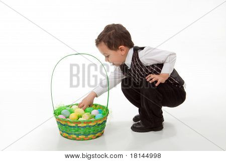 Collecting Easter Eggs