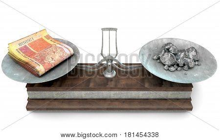 Balance Scale Comparison