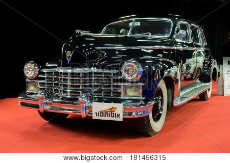 Cadillac Fleetwood Limousine 1941 Displayed In Tel-aviv. Israel