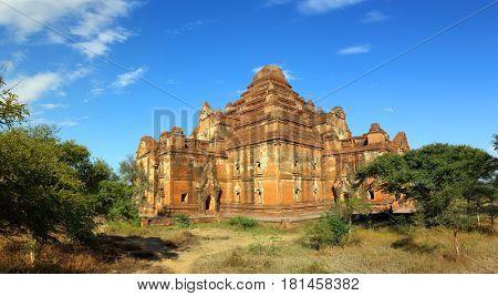 Dhammayangyi Pagoda (Paya) in Bagan, Myanmar (Burma)