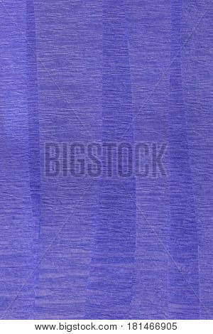 This is a photograph of Blue Crepe paper streamers