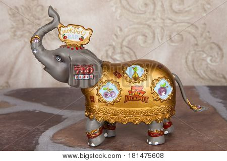 A modern take on the traditional lucky elephant