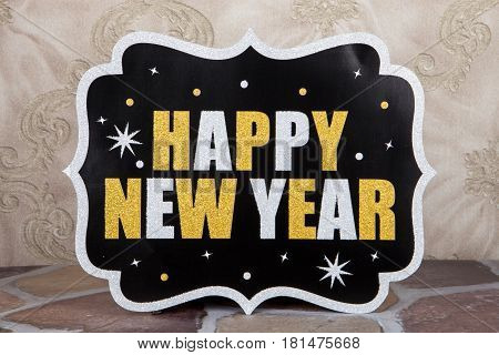 New Year Sign
