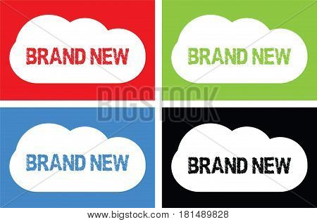 Brand New Text, On Cloud Bubble Sign.