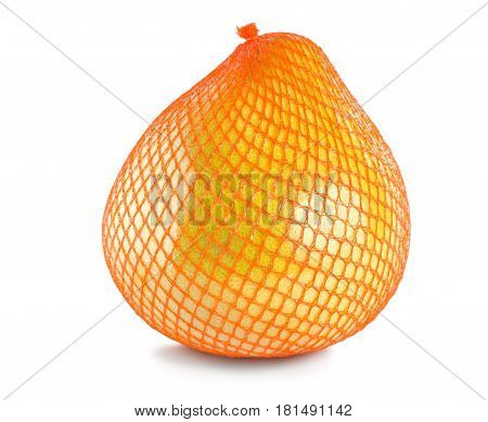 Pummelo packed isolated on a white background