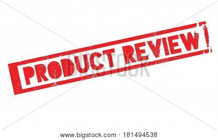 Product Review rubber stamp. Grunge design with dust scratches. Effects can be easily removed for a clean, crisp look. Color is easily changed.