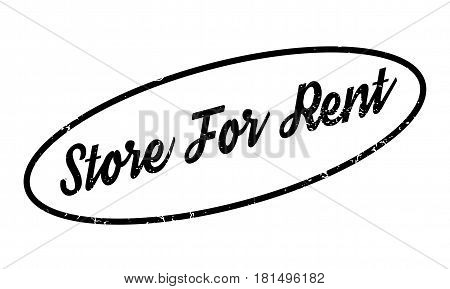 Store For Rent rubber stamp. Grunge design with dust scratches. Effects can be easily removed for a clean, crisp look. Color is easily changed.