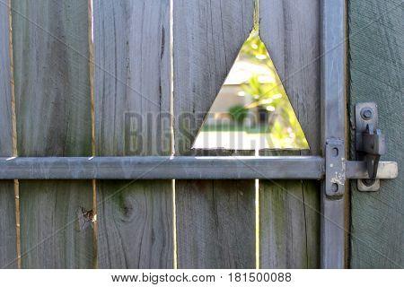 Close up of Garden Gate