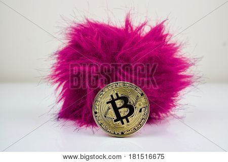 Hairy Bitcoin Physical Cryptocurrency Coin