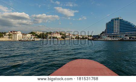 Sevastopol, Russia - June 09, 2016: Artillery Bay in the Sevastopol in Crimea