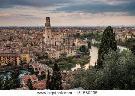 Verona Italy - Cityscape Of Verona, Veneto