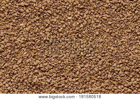 Instant granulated cofee texture full screen, background texture