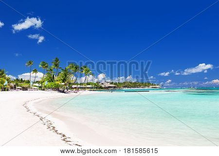 Beautiful White Sandy Beach