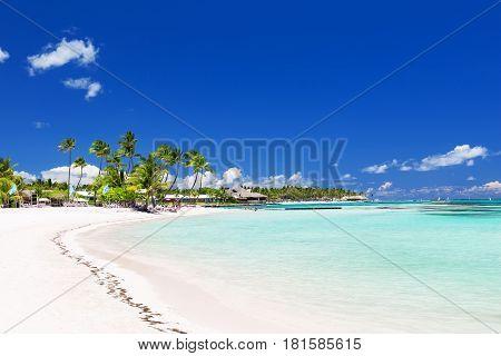 Beautiful White Sandy Beach
