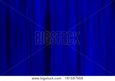 Background, deep blue, ultramarine, fabric curtain. Abstraction color backdrop