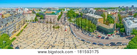 Kiev From The Air