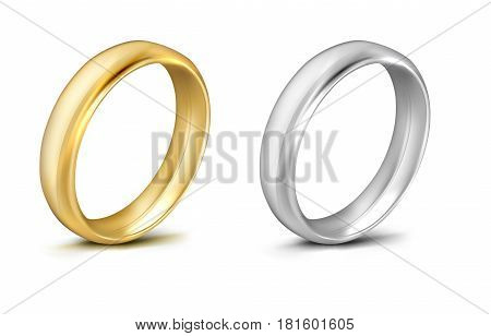 vector ring  isolated on white background .