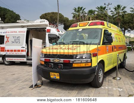Israeli Ambulance Cars, Called
