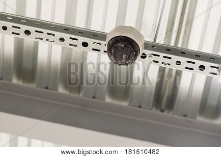 Video Surveillance From The Ceiling