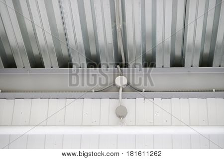 Fire Extinguishing System On The Ceiling