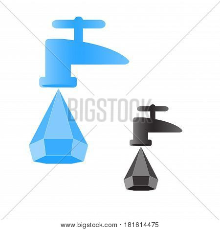 Drop Faucet Saving Vector Photo Free Trial Bigstock
