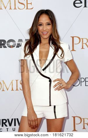 LOS ANGELES - APR 12:  Dania Ramirez at the
