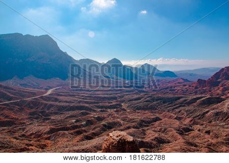 Landscape In Lake Mead.national Recreation Area, Usa
