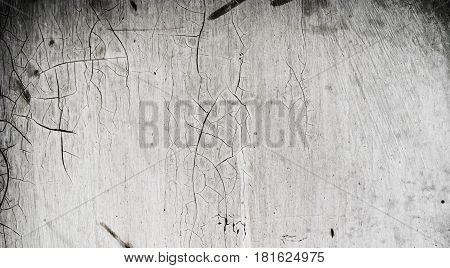 Metal, gray metal texture, abstract metal background, metal with cracked paint, iron metal