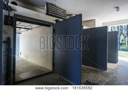 Disinfection Rooms For The Clothes Of Those Killed In The Gas Chamber Of The Concentration Camp Of D