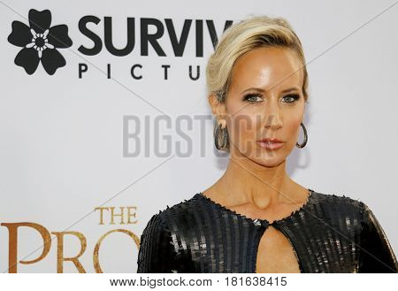 Lady Victoria Hervey at the Los Angeles premiere of 'The Promise' held at the TCL Chinese Theatre in Hollywood, USA on April 12, 2017.
