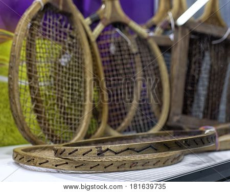 Old Tennis Racket.