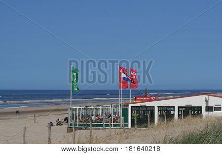 Tourist Industry In Egmond Aan Zee