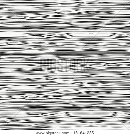 Horizontal hand drawn ink lines. Modern stylish texture. Repeating abstract background with strokes. Trendy print. Architectural hand drawn graphic. For print and web.