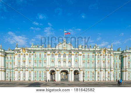 St.Petersburg Russia : State Hermitage Museum the oldest museum on earth
