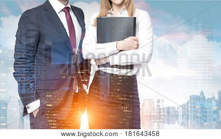 Business Partners In Sunny City