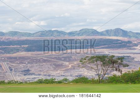 mining landscape ecology destruction of mining Coal mine
