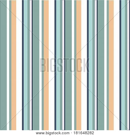 Abstract vector seamless pattern with vertical parallel stripes. Colorful pastel background can be used for kids room or wrapping paper. Vintage and retro style print for interior or fabric design