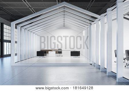 House Framed Ceo Office