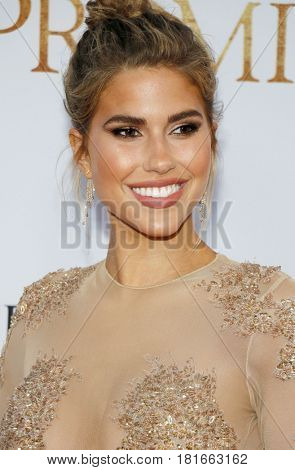 Kara Del Toro at the Los Angeles premiere of 'The Promise' held at the TCL Chinese Theatre in Hollywood, USA on April 12, 2017.