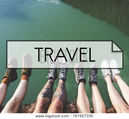 Travel Holiday Vacation Friends Wanderlust  poster