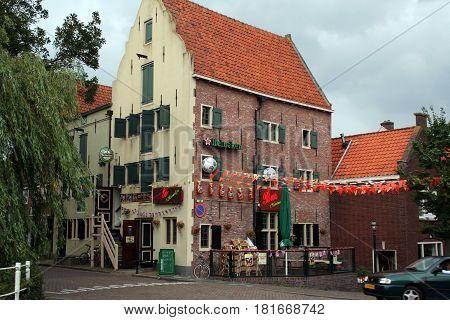 Old Historic Jailhouse Of Enkhuizen,