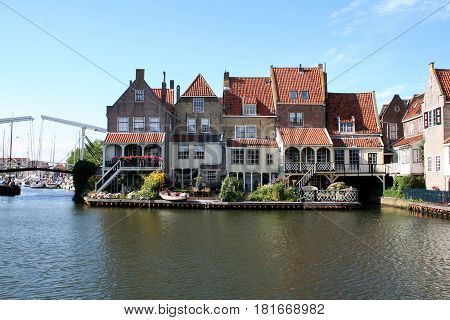 Enkhuizen,enkhuizen, One Of The Most Beautifull Spots Of This Historic City