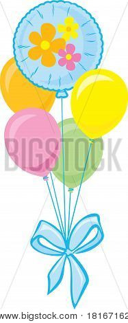 Bouquet of Party Balloons